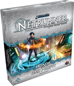 foto expansión honor and profit android: netrunner