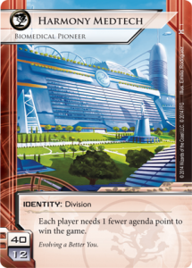 carta Harmony Medtech android netrunner